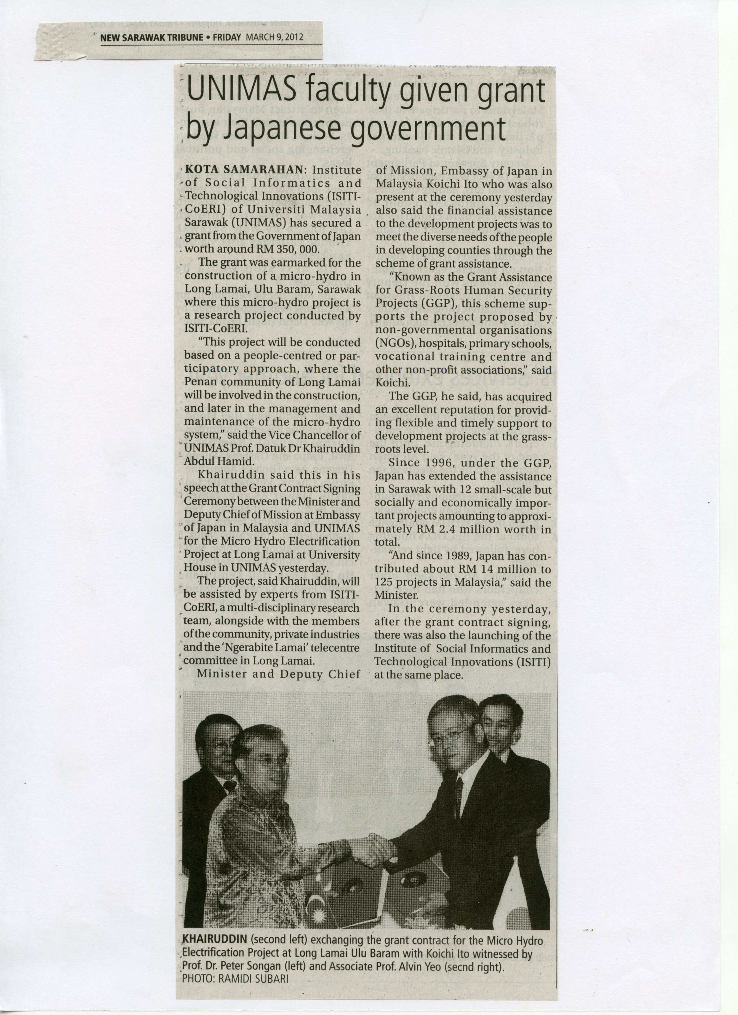 Infooai373 Infoofi Fmtxmlxsdbook 2012 288 978 983 Jus Mangga By Sabrina Casava Ui Lamai Hydro New Sarawak Tribune Friday 9march2012